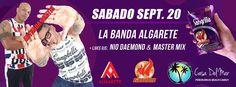 La Banda Algarete @ Casa del Mar, Camuy #sondeaquipr #algarete #casadelmar #camuy #penonbrussi