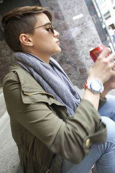 Tome+algo+más!+Hermosos+peinados+corto+rapado.