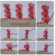 This post was discovered by gulcankibar. Discover (and save!) your own Posts on Unirazi. Filet Crochet, Thread Crochet, Crochet Trim, Knit Crochet, Needle Tatting Tutorial, Hand Embroidery, Embroidery Designs, Crochet Unique, Lace Art