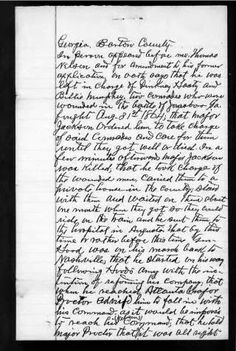 Amanuensis Monday: Confederate Pension Application for Thomas Nelson #genealogy #familyhistory
