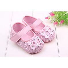 Baby Shoes Dress  Round Toe First Walkers More Colors available – USD $ 8.99