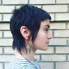 Pixie Mullet by @_hairwitch_