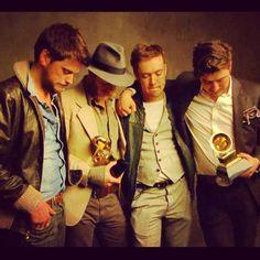 Mumford and their Grammy Awards