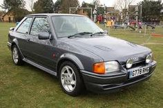 Ford RS turbo 1990 3rd New Car Bought when I Was in Belguim