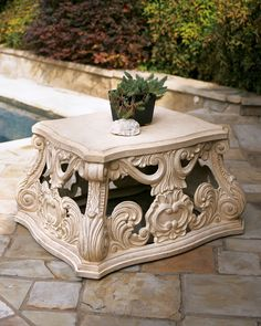 Outdoor Coffee Table- Horchow