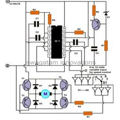 Are you fed up with ordinary PWM circuits which do not provide perfect DC motor speed control especially at lower speeds? Then check out this outstanding single chip PWM motor speed controller circuit that will give you a complete 360 degrees of continuously varying motor speed control right from zero to maximum. The speed is controlled through an externally applied varying DC voltage source. The most striking feature of this circuit is its ability to provide full torque even at minimum ...