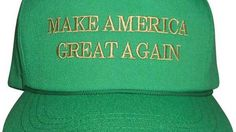 """The internet is very upset about the mistake on Trump's green #MAGA hats Read more Technology News Here --> http://digitaltechnologynews.com  It's not St. Patrick's Day until you've got your green and gold """"Make America Great Again"""" hat securely on your head.  SEE ALSO: Muslim group subtly trolls Trump with 'Making America Great' billboards  That's why the GOP and Donald Trump's team have been pushing sales of the $50 hat since last week  to make sure you show your Trump support and avoid…"""