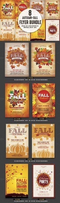 Fall Festival Flyer | Event Flyers, Flyer Template And Festival