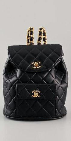 45c1858a1befa Chanel leather backpack Chanel Backpack