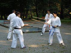 Karate Kyokushin Sibiu - Antrenament Bo, Kumite