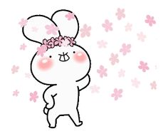 LINE Official Stickers - every day love UsakKuma 10 Example with GIF Animation Gifs, Cute Couple Cartoon, Cute Love Stories, Cute Love Gif, Dibujos Cute, Line Sticker, Genre, Rabbits, Custom Stickers