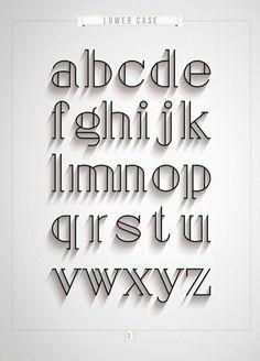 handlettering inspiratie lettertype