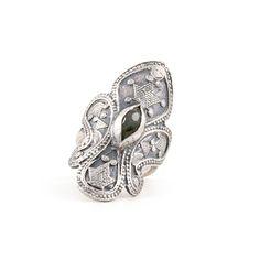 The Labradorite Statement Ring by jewelry designer Chan Luu.
