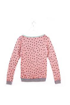 Watermelon Seeds Sweater