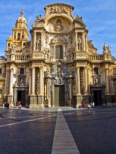 Catedral de Murcia, España.