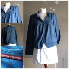 CAMISA COMPTOIR DES COTONNIERS La venta de VALENTINA, una diseñadora que subasta parte de su armario en Etoile No.5 www.etoileno5.com