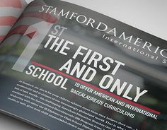 "Check out new work on my @Behance portfolio: ""Stamford American Prospectus"" http://be.net/gallery/34335161/Stamford-American-Prospectus"