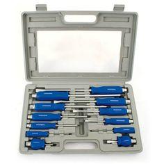 #Set #Screwdriver #Heavy #Duty #Mechanics #Engineers #Hex #Tool #Kit #Storage #Case