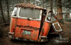 Vw bus cry for help
