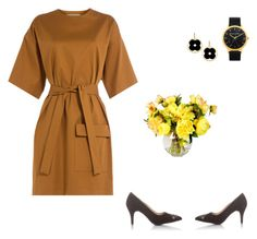 """""""Black & yellow Tuesday."""" by iutta on Polyvore featuring MSGM and Asha by ADM"""