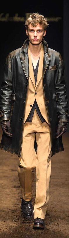 Salvatore Ferragamo 2015/2016 | Men's Fashion | Menswear | Men's Outfit for Fall/Winter | Moda Masculina | Shop at designerclothingfans.com