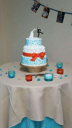 boda azul y blanco