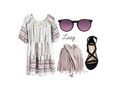 Sin título #32 by ireneene on Polyvore featuring moda, Pieces and Bershka