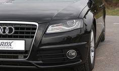 RDX Headlight covers AUDI A4 B8, B81, 8K (2008-2011) präsentiert von #vctgermany #motorsport http://vct-germany.com/Anfragen-aus-Deutschland:_:26.html