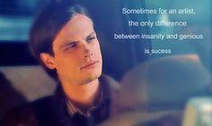 Spencer Reid- Criminal Minds Matthew Gray Gubler