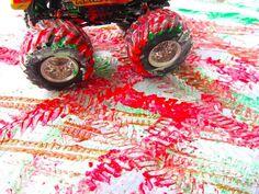 Arte para niños con carritos | Blog de BabyCenter