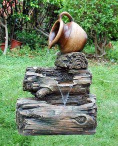 Uploaded by user: Faux Bois Fountain: Fonte