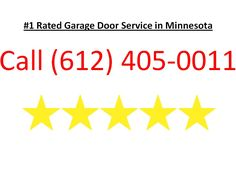 Garage door Service Minneapolis Call us at (612) 405-0011 or visit http://garagedoormn.com/ We are the top rated garage door repair company in Minneapolis MN. We provide garage door repair services installations and replacements.   We service the entire Twin Cities Metro Area. We also service the surround suburbs. If you are experiencing garage door problems you could have a major issue or your garage door system might just need a tune up. Our staff is friendly and knowledgeable and will…