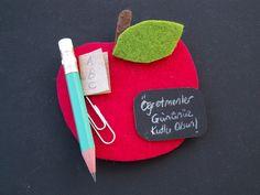 Cicideko Kendin Yap (DIY): Öğretmenler Günü Hediyesi Elma Mıknatıs Süsü Yapılışı Youtube'ta Yayında/ Apple Magnet Teacher's Day Gift Tutorial at Cicideko Craft Channel