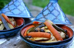 Moroccan Chicken Tajin