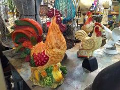 Vintage Roosters For Your Decor   Dealer #0116  $45 and up   Lucas Street Antiques Mall 2023 Lucas Dr.  Dallas, TX 75219  Read more: http://dallas.ebayclassifieds.com/home-decor/dallas/vintage-roosters-for-your-decor/?ad=40437247#ixzz3gUH3dFmJ