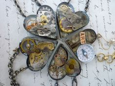 Reinvented Objects: Steampunk Hearts