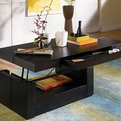 Have to have it. Petra Lift-Top Coffee Table - $ @hayneedle