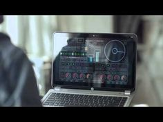 HP ENVY 4 Touchsmart: Sound of Touch Ad featuring deaf DJ, Robbie Wilde.