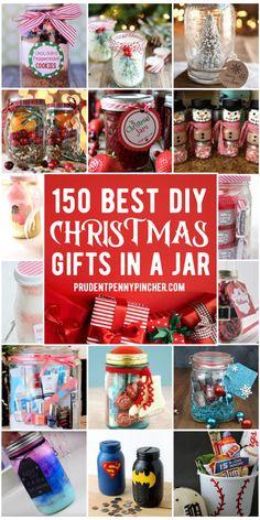Mason Jar Christmas Gifts, Easy Diy Christmas Gifts, Best Christmas Presents, Christmas Gift Baskets, Christmas Projects, Christmas Fun, Handmade Christmas, Childrens Christmas, Christmas Sweets