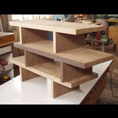 chump furniture san francisco cardboard shelves