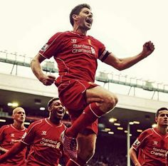 Mawh. Liverpool Players, Liverpool Football Club, Liverpool Fc, Stevie G, France Football, Captain Fantastic, You'll Never Walk Alone, Best Club, Steven Gerrard