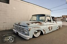 Rat Rods FS » Blog Archive » F100 HOTROD RAT STREET HOT ROD TRUCK LOWERED Y-BLOCK V8 Ford : F-100 PATINA PRO BUILT SHOP TRUCK HOT ROD V8 AIR...