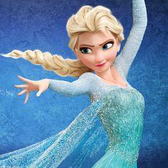 Papel de parede para iPad Retina Frozen Elsa
