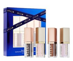 Shop stila's The Fourth Dimension Liquid Eyeshadow Set at Sephora. This set of four full-size, award-winning liquid eye shadows that shimmer, shine, sparkle, and gleam. Eyeshadow Set, Liquid Eyeshadow, Eyeshadow Palette, Fourth Dimension, Celebrity Makeup, Smoky Quartz, Wands, Best Makeup Products, Bath And Body
