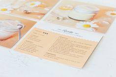 Florence et Victoria  - Kits de cosmétiques à faire soi même - Fiches recettes peau sensible - Projet édudiant - Juliette Lebreton