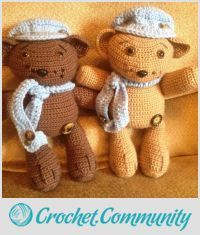 EDITOR'S CHOICE (01/22/2016) Cutie Cubs by Craftybear View details here: http://crochet.community/creations/4117-cutie-cubs
