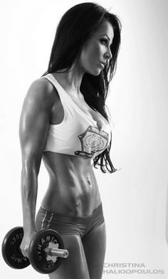 Female fitness ... Don't wish for it ...  Work for it ... the silhouette of a perfect girl ... get the body that will make men run after you