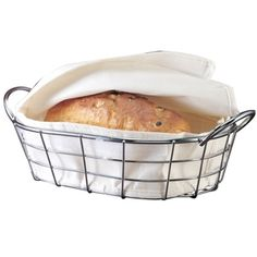 Bread Baskets Oval Metal Wire Box Fruit For Baguette Sourdough Food Pantry Pantry Baskets, Wire Baskets, Bread Boxes, Bread Baskets, Daily Meals, Plastic Laundry Basket, Kitchen Dining, Food, Baguette