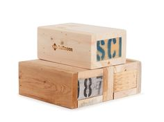 Recycled Pallet Yoga Block $29 | shophalfmoon.com
