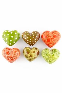 Fair Trade hearts! Perfect little gifts for Valentine's Day.